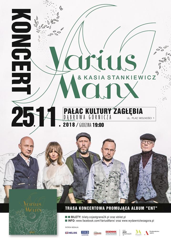 Varius Manx Kasia Stankiewicz Koncert Wwwpalacartpl