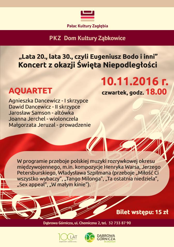 Lata 20 Lata 30 Czyli Eugeniusz Bodo I Inni Koncert Z